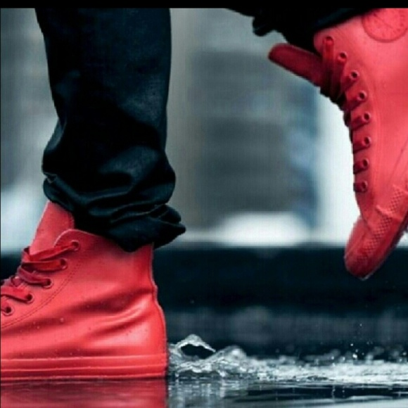 Converse Chuck Taylor Red Rubber Shoe
